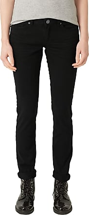 Q/S designed by - s.Oliver Womens 45899710414 Slim Jeans, Black (Black 9999), 38W x 32L