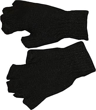Sonia Originelli Strickhandschuhe Fingerhandschuhe Uni Neon knallig Unisex