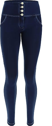 Freddy High-waisted super skinny WR.UP shaping jeans with buttons