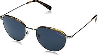 e499761ef54 Original Penguin Mens The Ferrell Sun Polarized Round Sunglasses Silver 51  mm