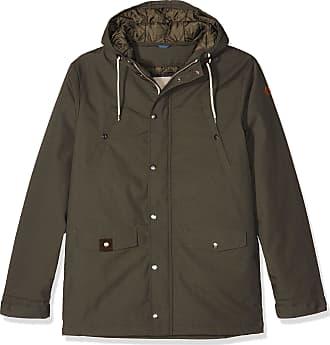 Revolution (RVLT) RVLT Mens Heavy Parka Long Sleeve Jacket, Green (Army), XX-Large