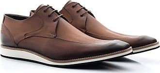 Di Lopes Shoes Sapato Social Masculino 100% em Couro. (37, Grafite)