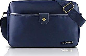 Jacki Design Bolsa Jacki Design Transversal Masculina Ahl17208-Az Azul T Un