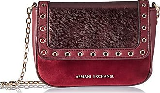 A|X Armani Exchange Small Grommets Crossbody Bag, wine tasting