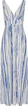 Tart Collections Tart Collections Woman Wrap-effect Printed Modal-blend Jersey Maxi Dress Blue Size XS