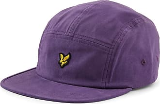 Lyle & Scott Lyle and Scott Men Five Panel Cap - Cotton - 1SZ Violet