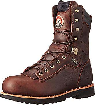 Irish Setter Mens 83826 9 Aluminum Toe Work Boot,Brown,12 EE US