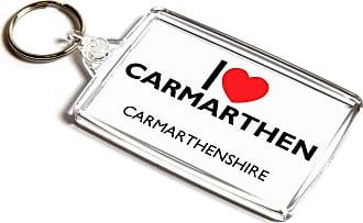 ILoveGifts KEYRING - I Love Carmarthen - Carmarthenshire - Wales