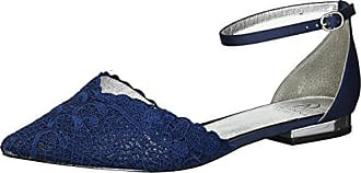 Adrianna Papell Womens TRALA Mary Jane Flat, Navy attalie lace, 6 M US