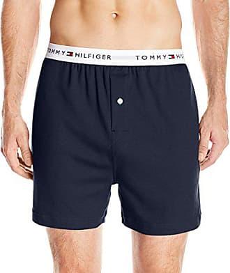 6ac5d050550c Tommy Hilfiger Mens Underwear Knit Boxers, Dark Navy, Small