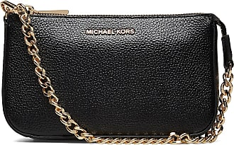 Michael Kors Pouches & Clutches Md Chain Pouchette Bags Small Shoulder Bags - Crossbody Bags Svart Michael Kors Bags