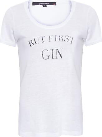 J. Chermann Camiseta But First Gin J. Chermann - Branco