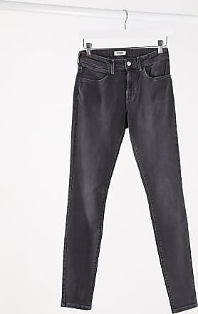 Wrangler Jeans skinny grigi-Grigio