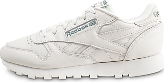 011e957463586 Reebok Classic Leather Blanche Et Verte Femme 39 Baskets
