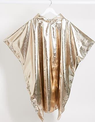Monki Poncho oro metallizzato