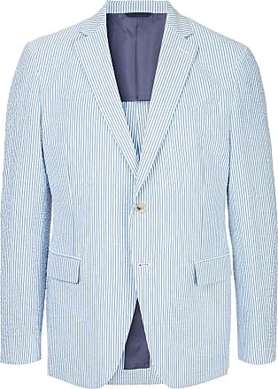 Durban striped blazer - Blue