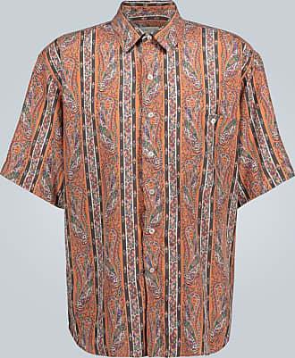 Etro Striped paisley printed shirt