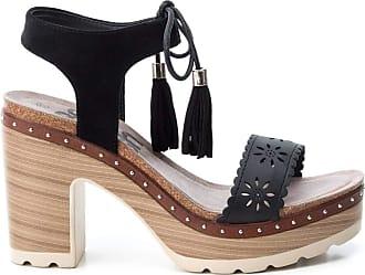 Refresh Womens 69724 Platform Sandals, Black (Negro Negro), 4 UK