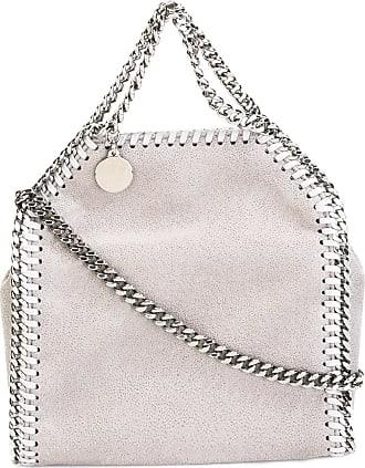 Stella McCartney Borsa a spalla con catena - Di colore grigio