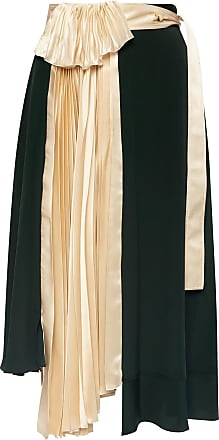 Lanvin Pleated Skirt Womens Green