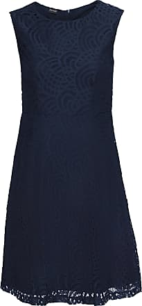 Bodyflirt Dam Klänning med spets i blå utan ärm - BODYFLIRT 41bc202a695a2