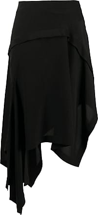 Lanvin asymmetric hem skirt - Black