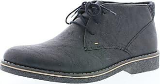 Rieker 33824 Herren Stiefel, Schnürstiefel, Boot, Schnürboot, extra weit  schwarz (schwarz f0cbf7ce36