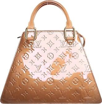 1a834bcad47e3 Louis Vuitton gebraucht - Handtasche aus Lackleder in Ocker - Damen -  Lackleder