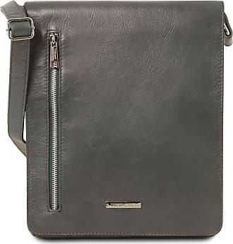 651a9bc6e4d13 Tuscany Leather Borsa a tracolla in pelle morbida Blu scuro