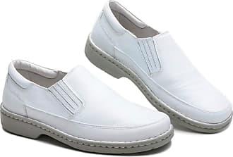 Generico Sapato social masculino, semi-ortopédico em legitimo couro mestiço(pelica), sola antistress modelo CR-1005 (39, CR-1005 MESTIÇO BRANCO)