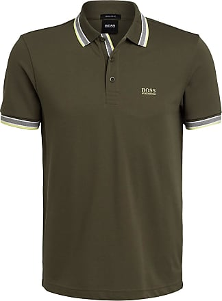 BOSS Piqué-Poloshirt PADDY Regular Fit - OLIV