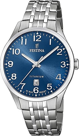 Festina Orologio Solo Tempo Uomo Festina Calendario Titanium F20466/2