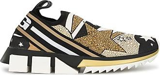 Dolce & Gabbana Tênis Sorrento com estampa - Preto