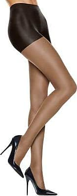 New solutions women shaping control top leg support pantyhose barely black S 2pk