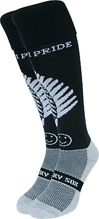 Wackysox New Zealand Sports Socks Adult Shoe Size 11-14