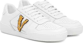 Versace Ilus Virtus leather sneakers