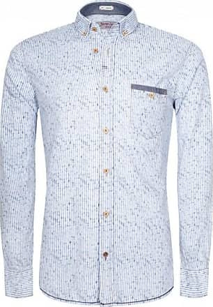 Signum Herren Hemd Rugged Button-Down-Shirt in Streifenoptik