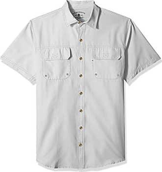 059df8632cf G.H. Bass & Co. Mens Big and Tall Explorer Short Sleeve Button Down Fishing  Shirt