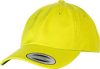 Yupoong Flexfit 6-Panel Baseball Cap with Buckle (Pack of 2) (One Size) (Lime)