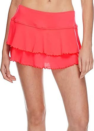 Body Glove Womens Smoothies Lambada Solid Mesh Cover Up Skirt Swimsuit, Diva, Small