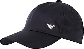 Emporio Armani Armani Mens Techno Fabric Logo Baseball Cap One Size Navy