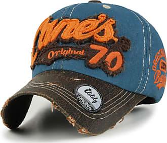 Vintage Black Army Cap Cotton Mens Trucker Hat Flat Baseball Cap Distressed Caps