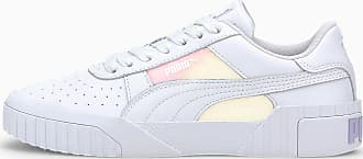 Puma Cali Glow Womens Trainers, White, size 3.5, Shoes