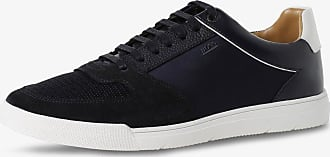 BOSS Herren Sneaker mit Leder-Anteil - Cosmopool blau