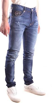 Philipp Plein Fashion Man P17CMDT0142PDE016N60WA Blue Elastane Jeans | Spring Summer 20