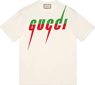Gucci T-Shirt mit Gucci Blade-Print