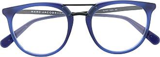 Marc Jacobs Armação de óculos redonda - Azul