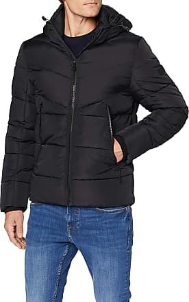 Tom Tailor Denim Mens Dicke Puffer Jacket, Black, L
