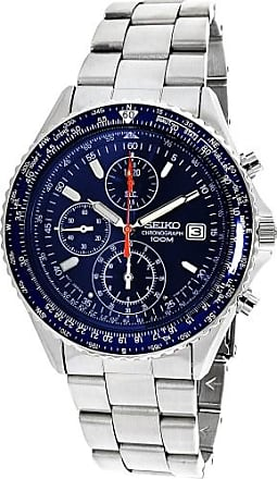 Seiko Mens SND255 Silver Stainless-Steel Japanese Quartz Dress Watch