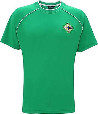 Bang Tidy Clothing Northern Ireland Football Shirt Official Merchandise Shirts Gift Boxed Green XXL